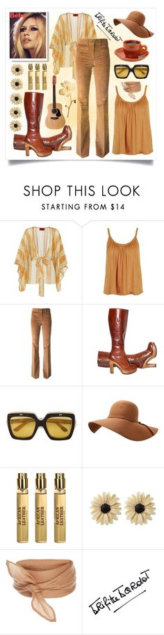 """Bébé Hippy style"" by celine-diaz-1 ❤ liked on Polyvore featuring Missoni Mare, Topshop, Filles à papa, Gucci, Memo Paris, Rock 'N Rose and Bardot"