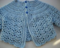 Popular items for blue baby sweater on Etsy
