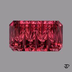 Pink Tourmaline ZigZag™ Cut 3.70 cts