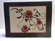 cards made with flowering flourishes su - Google Search