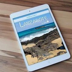 "Ebook ""Lanzarote in pixel"", isole canarie - Instagram Feed"