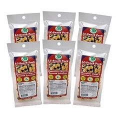 Dark Chocolate & Toasted Coconut Snack Pack (6 Pack) - LC Foods - Low Carb - All Natural - Paleo - Gluten Free - No Sugar - Diabetic Friendly - 1.7 oz Each *** Be sure to check out this awesome product.