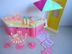 Antiga Sorveteria Barbie Anos 80 A Mais Completa ! ! - R$ 199,90 no MercadoLivre
