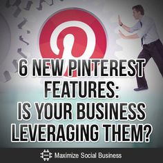 Social Media: 6 New Features: Is Your Business Leveraging Them? Social Business, Business Marketing, Content Marketing, Business Tips, Online Marketing, Social Media Marketing, Online Business, Digital Marketing, Mobile Marketing