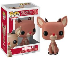 Pop! Rudolph Collectible - 15.00 to 18.00  FOUND: Amazon, bookstores, anywhere that sells Pop! figures.