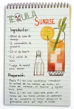 Tequila sunrise: Cóctel con tequila