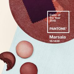 Marsala is a daringly inviting tone that nurtures; exuding confidence and stability while feeding the body, mind and soul. #Pantone #ColoroftheYear 2015 #Marsala