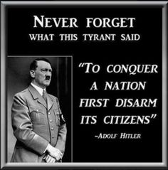 Hitler knew,so do Liberal politicians ... but the ignorant masses,the sheeple are too stupid to wake-up ....