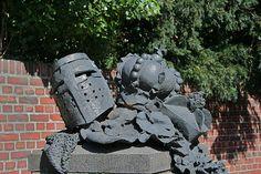 Das Stadterhebungs - monument Düsseldorf