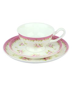 Look at this Pink Annie Tea Set on #zulily today!