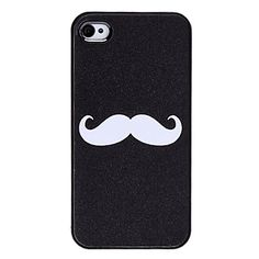 Flash Style Mustache Pattern Hard Case for iPhone 4/4S – USD $ 3.05