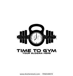 Gym and Fitness Logo Template
