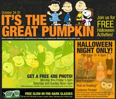 This will be a lot of fun for the kids!! Checkout this FREE Halloween Activities and Events at Bass Pro Activities and Events Include: * FREE 4×6 Photo -Monday thru Friday from 5PM-8PM and Saturday and Sunday from Noon-5PM * FREE Glow in the Dark Glasses to the first 100 kids to have their photo …