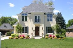 Traditional Exterior Photos French Provincial Design, Pictures, Remodel, Decor and Ideas - page 2