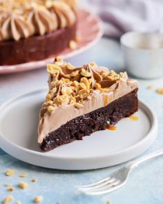 Kladdkaka med mjölkchokladfluff - My Kitchen Stories Sweet Desserts, Easy Desserts, Dessert Recipes, Kitchen Stories, Food N, Something Sweet, Afternoon Tea, Food Pictures, Oreo