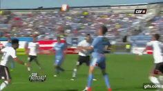 """Golazo de Pablo Calandria de chilena vs Colo Colo https://t.co/mh62ZwXPgU"""""""