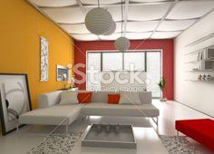 sky light istock modern interior Royalty Free Stock Photo