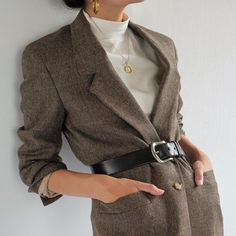 winter business outfits to be the fashionable woman in your office 13 ~ thereds. Mode Outfits, Casual Outfits, Fashion Outfits, Womens Fashion, Look Fashion, Korean Fashion, Autumn Fashion, 90s Fashion, Vintage Fashion