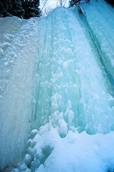 winter frozen waterfalls | ... images of lake superior ice, winter, frozen waterfalls, ice climbing