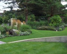 Garden Design Little Chalfont | Andy Sturgeon Garden Design Modern Garden Design, Contemporary Garden, Landscape Design, Contemporary Homes, Sloped Garden, Garden Pool, Shade Garden, Garden Great Ideas, Garden Inspiration