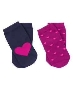 Heart Socks Two-Pack at Gymboree