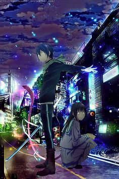 Yato and Hiyori  by PSLShana567.deviantart.com on @DeviantArt