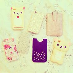 Cute! ✿<<<I REALLY want one of the bears :D they are just so FREAKING cute!!