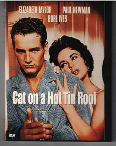 Cat on a Hot Tin Roof DVD Official Warner Bros. Release Liz Taylor & Paul Newman