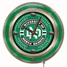 Holland 15 in. College Wall Clock - CLK15NORDAKHKY