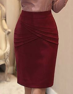 7642aada5 128 mejores imágenes de falda de tela | Skirt fashion, Dress skirt y ...