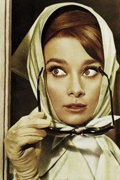 Audrey with scarf