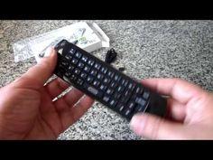 Rii Mini i25, Teclado con Ratón Giroscópico y Control Remoto Infrarrojos