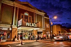 The Palace Theater in Lake Placid, New York. Photo by @Joey Lax-Salinas