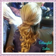 #bride #bridesmaid #wedding #updo #formal #hair @Detangled Salon by #stylist Lauren