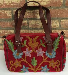 Burgundy Short-strap Bag