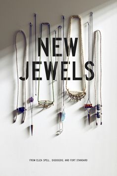 type integrated with product || New Jewels