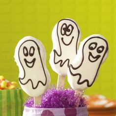 Quick Ghost Cookies Recipe from Taste of Home