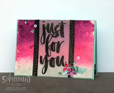 Stampin' Up! 2015-2016 Artisan Design Team I Botanicals For You I SAB Sale-a-bration 2016