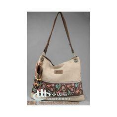 Chinese Ethnic shoulder bag cloth bag   Bolso de tela étnico
