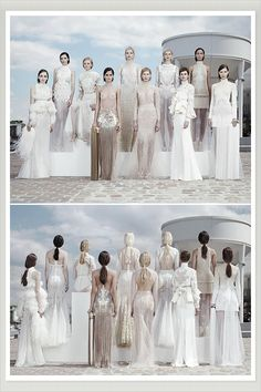 OH MY, these dresses are beautiful but a bit revealing, I'm sure the grooms would love it! Givenchy Couture 2011 Wedding Dresses