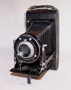 Vintage KODAK Monitor Six-20 FOLDING CAMERA 620 Film Anastigmat Special 100mm #EastmanKodak