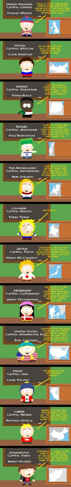 Young Diplomats by on deviantART >>> I honestly think Kenny was referring to anime porn XD <<< yes he was referring to hentai South Park Funny, South Park Memes, Creek South Park, South Park Fanart, Lol, Deviantart, Awesome Stuff, Fun Stuff, Random Stuff