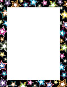 Teacher Created Resources Fancy Stars Computer Paper Create letters, invitations, and flyers with colorful computer paper. Star Themed Classroom, Stars Classroom, Classroom Themes, Printable Border, Printable Star, Borders For Paper, Borders And Frames, Borders Free, Page Boarders