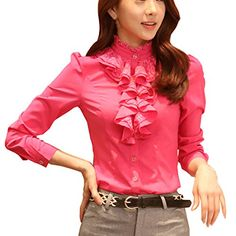 Partiss Women OL Falbala Spring Shirt,S,Rose Red Partiss http://www.amazon.co.uk/dp/B00UN7DGME/ref=cm_sw_r_pi_dp_ma-bvb10Z7RSN