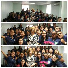 Convèrsatorio de Rose Marie Tapia con los estudiantes de Medicina de la UAM el 6-7-16