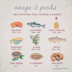 Health And Nutrition, Health And Wellness, Health Fitness, Omega 3 Foods, Natural Fertility, Pcos, Endometriosis Diet, Intuitive Eating, Essential Fatty Acids
