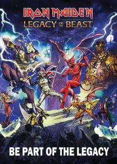 Iron Maiden - Legacy of the Beast - Mini Print
