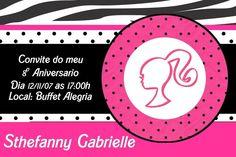 Convite digital personalizado da Barbie 005