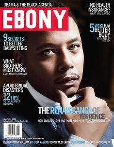 Terrence Howard // March 2009 Ebony Magazine