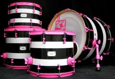 love the black-flake and the pink powder-coating